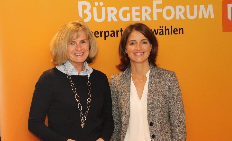 Stammtisch mit Pauline Miller und Andrea Hanisch: Zwei starke Frauen, ein neues Politikverständnis